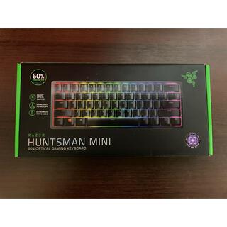 レイザー(LAZER)のRazer Huntsman Mini US配列 紫軸 60%キーボード(PC周辺機器)