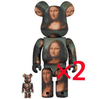 メディコムトイ(MEDICOM TOY)のBE@RBRICK Mona Lisa 100% & 400% 2セット(その他)