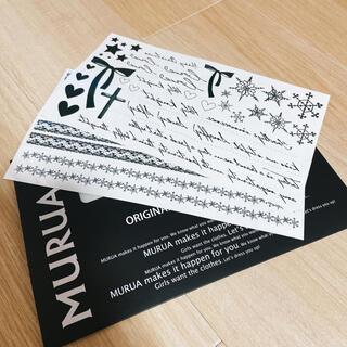 ムルーア(MURUA)のMURUA タトゥーシール シート2枚(その他)