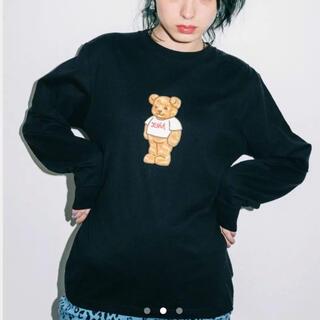 X-girl - X-girl BEAR クマ L/S REGULAR TEE