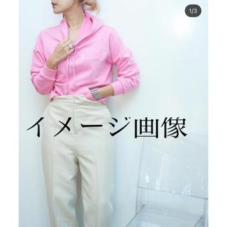エムエムシックス(MM6)のSUPERyaya100% スーパーヤヤ フーディ サイズM ピンク 新品未使用(パーカー)