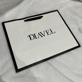 DIAVEL ショップ袋(ショップ袋)
