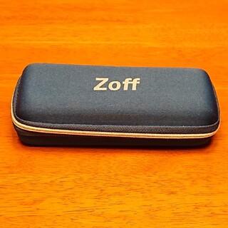 Zoff - Zoff メガネケース メガネ拭き付き
