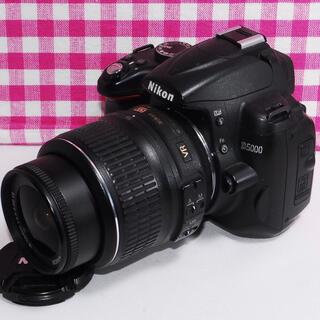 ニコン(Nikon)の⭐️大切な思い出を作ろう⭐️Nikon D5000 レンズキット・豪華付属品多数(デジタル一眼)