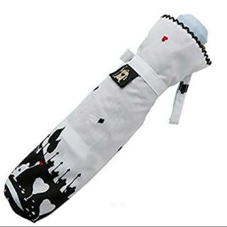 ディズニー(Disney)のディズニー ふしぎの国のアリス 雨晴兼用の折り畳み傘(傘)