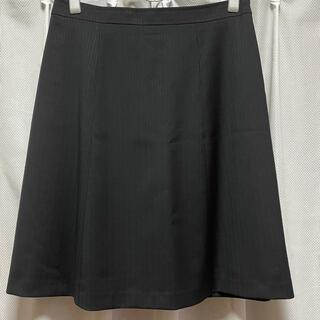 クミキョク(kumikyoku(組曲))の新品 KUMIKYOKU 組曲スカート 5 ブラック(ひざ丈スカート)