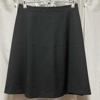 クミキョク(kumikyoku(組曲))の新品 KUMIKYOKU 組曲スカート 6 ブラック ①(ひざ丈スカート)