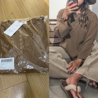 アンティローザ(Auntie Rosa)のAuntieRosaHoliday♡新品♡ボタンスラブカット(Tシャツ(長袖/七分))