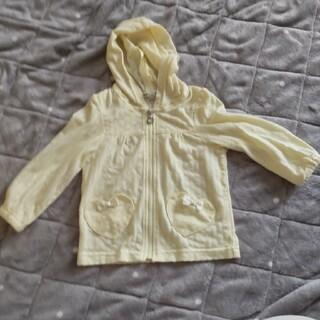 エニィファム(anyFAM)のエニィファム パーカー 羽織り 黄色 90cm(カーディガン)