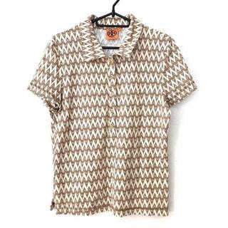 トリーバーチ(Tory Burch)のトリーバーチ 半袖ポロシャツ サイズM美品 (ポロシャツ)