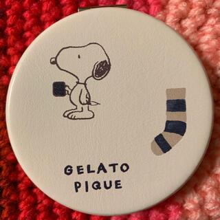 gelato pique - ジェラートピケ×スヌーピー   コンパクトミラー
