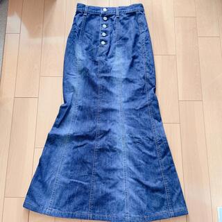 ブルーウェイ(BLUE WAY)のET-BOITE デニムスカート(ロングスカート)