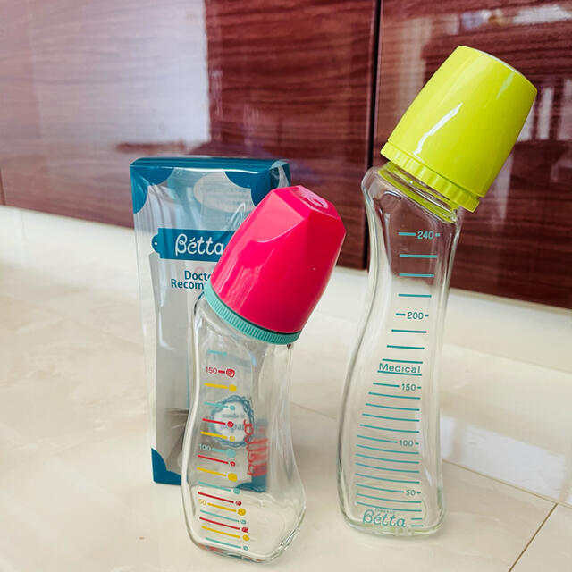 VETTA(ベッタ)のドクターベッタ 哺乳瓶 キッズ/ベビー/マタニティの授乳/お食事用品(哺乳ビン)の商品写真