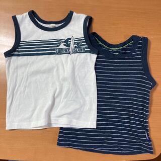 ニシマツヤ(西松屋)の西松屋 タンクトップ 100cm 2枚セット(Tシャツ/カットソー)
