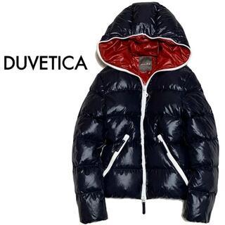 デュベティカ(DUVETICA)のアローズ別注 デュベティカ ダウンジャケット ディオニシオ 44 ネイビー 紺(ダウンジャケット)