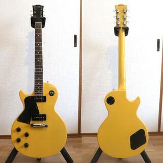 イーエスピー(ESP)のグラスルーツ G-LS-57-LH TV Yellow レフティ(左利き用)(エレキギター)