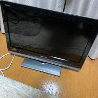 SHARP - 20V型テレビ SHARP AQUOS DZ DZ3 LC-20DZ3-S