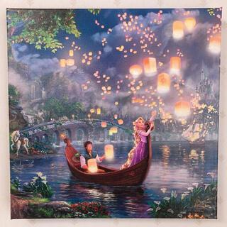 Disney - トーマスキンケード ディズニー ラプンツェル キャンバス 絵画