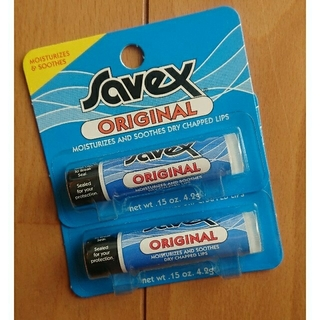 サベックス(Savex)の新品未開封☆Savex リップクリーム オリジナル 2個(リップケア/リップクリーム)