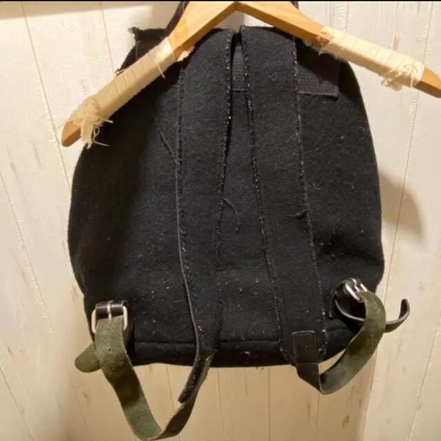 COMME des GARCONS(コムデギャルソン)のトリココムデギャルソン ウールリュック レディースのバッグ(リュック/バックパック)の商品写真