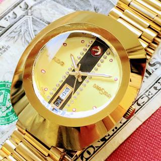 ラドー(RADO)の#1232【美しいデザイン】ラドー ダイアスター メンズ 腕時計 アンティーク(腕時計(アナログ))