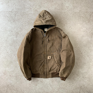 carhartt - Carhartt active jacket 焦茶 アクティブジャケット