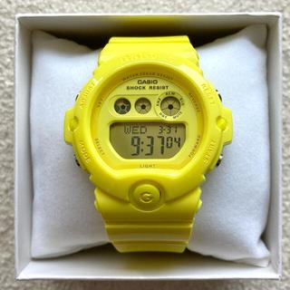 ベビージー(Baby-G)の【希少ビタミンカラー】Energetic Colors BG-6902 イエロー(腕時計)