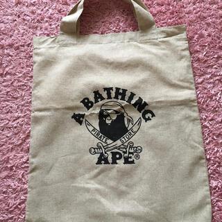 アベイシングエイプ(A BATHING APE)のA BATHING APE 布バッグ(特大)(トートバッグ)