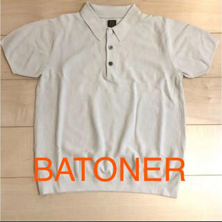 BATONER  バトナー ポロシャツ S