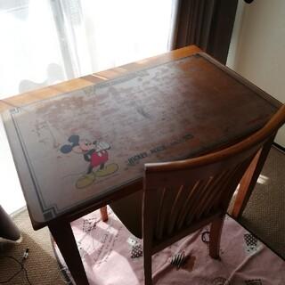 ニトリ(ニトリ)の木製 机と椅子 セット(オフィス/パソコンデスク)