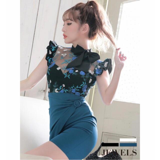 JEWELS(ジュエルズ)の【新品未使用】キャバドレス  レディースのフォーマル/ドレス(ナイトドレス)の商品写真