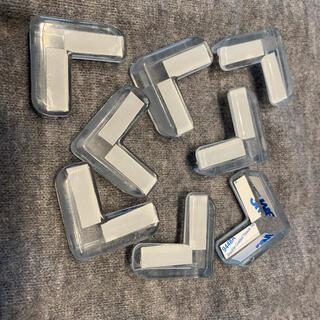 コーナークッションガード透明 8個 赤ちゃん 子供安全対策家具の角を保護 L型(コーナーガード)