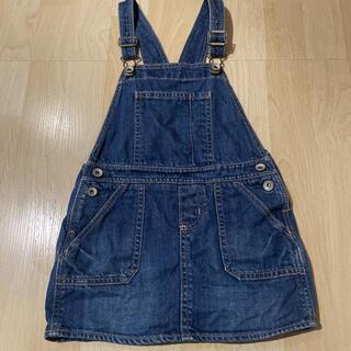 ベビーギャップ(babyGAP)のbaby Gap デニムジャンパースカート  4years(ワンピース)
