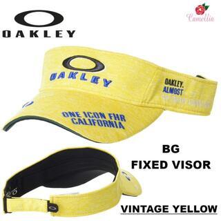 オークリー(Oakley)の新品 OAKLEY オークリー メンズ ゴルフ BG サンバイザーYE(サンバイザー)