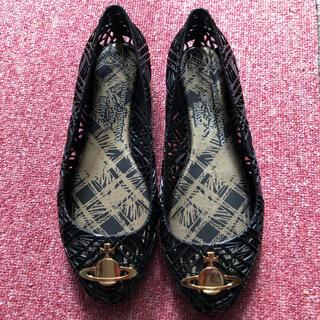 ヴィヴィアンウエストウッド(Vivienne Westwood)の美品 vivienne westwood Anglomania フラットシューズ(バレエシューズ)