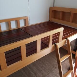 ニトリ(ニトリ)の木製 ロフトベッド(ロフトベッド/システムベッド)
