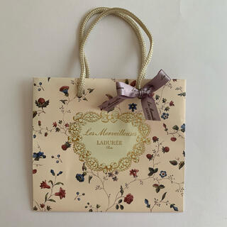 レメルヴェイユーズラデュレ(Les Merveilleuses LADUREE)のラデュレLADUREEショップ袋ショッパー紙袋(ショップ袋)