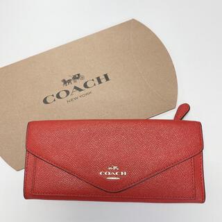コーチ(COACH)のCOACH 長財布 オレンジ(財布)