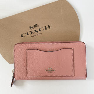 コーチ(COACH)のCOACH 長財布 ピンク(財布)