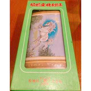 レア商品 松嶋文化刺繍 No451 白馬 4号 刺繍キット(生地/糸)