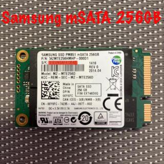サムスン(SAMSUNG)のSAMSUNG mSATA SSD 256GB TLC(PCパーツ)