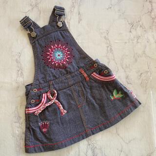 オイリリー(OILILY)のoilily ジャンパースカート(ワンピース)