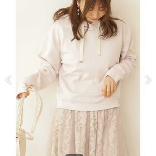 プロポーションボディドレッシング(PROPORTION BODY DRESSING)のproportion body dressing シルキーポンチパーカー(パーカー)