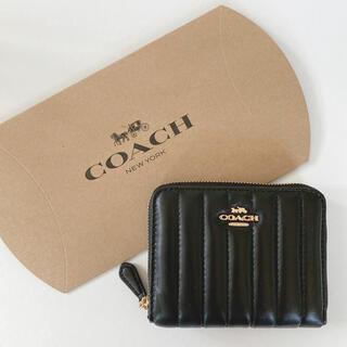 コーチ(COACH)のCOACH 折り財布 黒 新作シリーズ(財布)