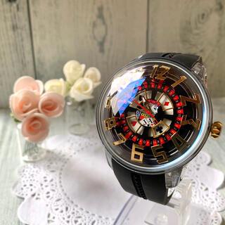 テンデンス(Tendence)の【希少】Tendence テンデンス  キングドーム  腕時計 カジノ ぐるぐる(腕時計(アナログ))