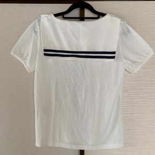 クレドソル(CLEF DE SOL)の新品タグ付き☆CLEF DE SOL セーラーカラーカットソー Tシャツ(カットソー(半袖/袖なし))