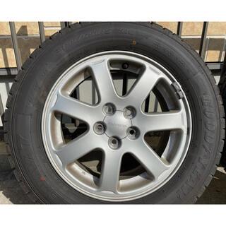 グッドイヤー(Goodyear)のスタッドレスタイヤ 15インチホイールセット4本(タイヤ・ホイールセット)
