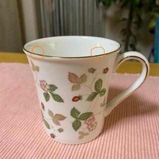 ウェッジウッド(WEDGWOOD)のウェッジウッドワイルドストロベリーマグカップ(マグカップ)