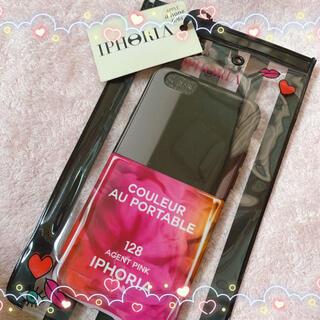 アイフォリア(IPHORIA)のIPHORIA_iPhoneケース(ピンク)(iPhoneケース)