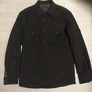 LOUIS VUITTON - フランス製 ルイヴィトン ウール カシミア CPO シャツ ジャケット